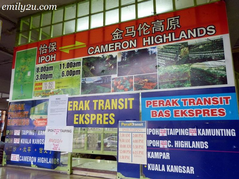 Medan Kidd Perak Transit bus routes schedules