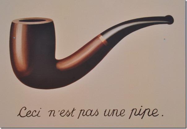 Ceci n'est pas une pipe.