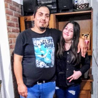 Pedro y Valentina Sánchez