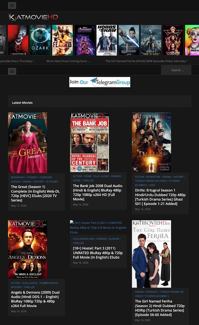 Click here  Top5 Hindi dubbed movie downloading sites