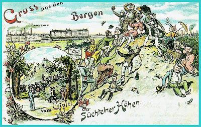 Зюхтеленские высоты. Конец XIX века.