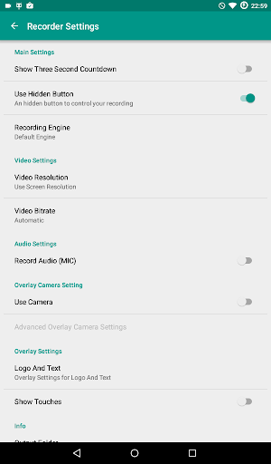 ADV Screen Recorder 4.2.1 screenshots 14