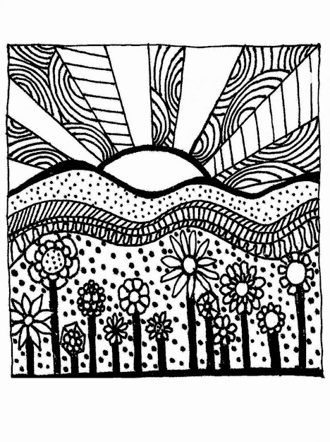 Free Nature Printable Pictures Coloring Pages