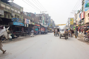 Early morning view in Gujrat city