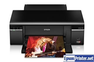 How to reset Epson Artisan 50 with tool