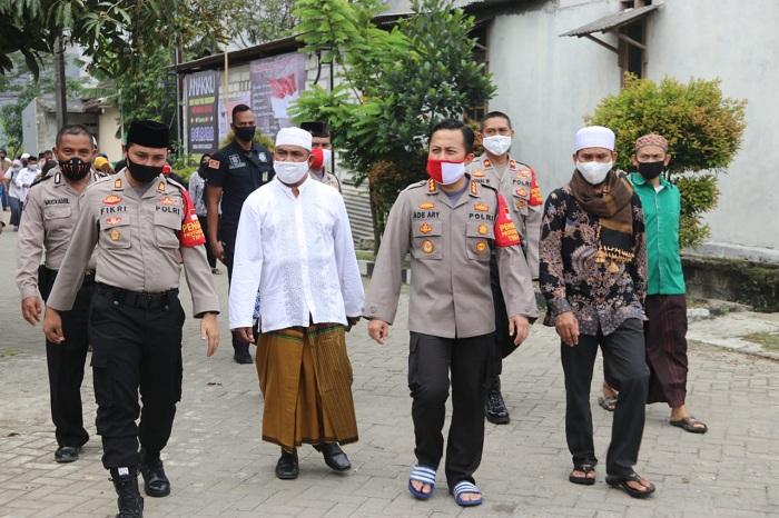 Kapolresta Tangerang Cek Kampung Tangguh Lawan Covid-19
