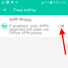 Office vpn proxy