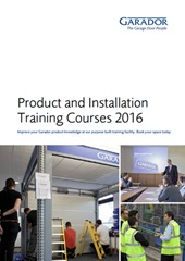 garador-2016-product-training