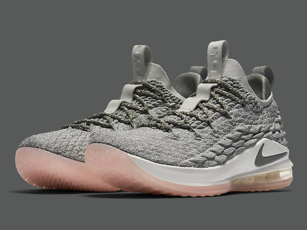Light Bone Nike LeBron XV Low  Catalog Images