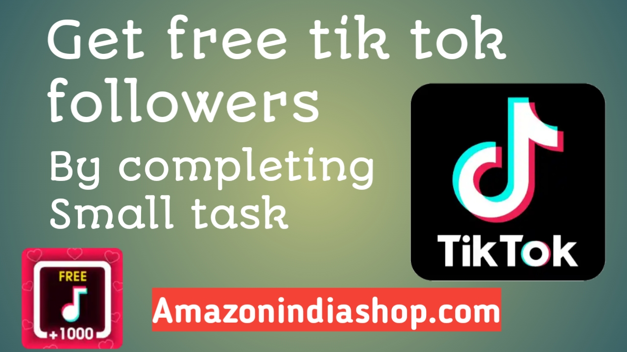Get Free Tiktok followers!!Get Free Tiktok fan and likes!!Free