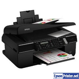 How to reset Epson BX310FN printer