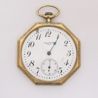 14K Gold Vintage Pocket Watch