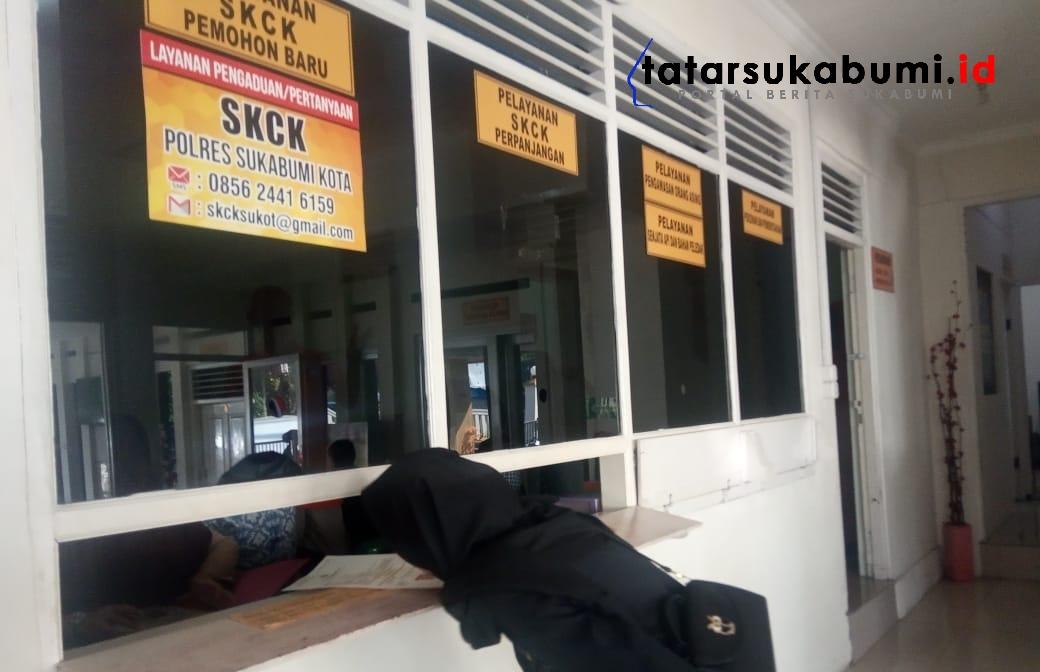 Permintaan SKCK Melonjak, Polresta Sukabumi Sempat Kehabisan Blanko