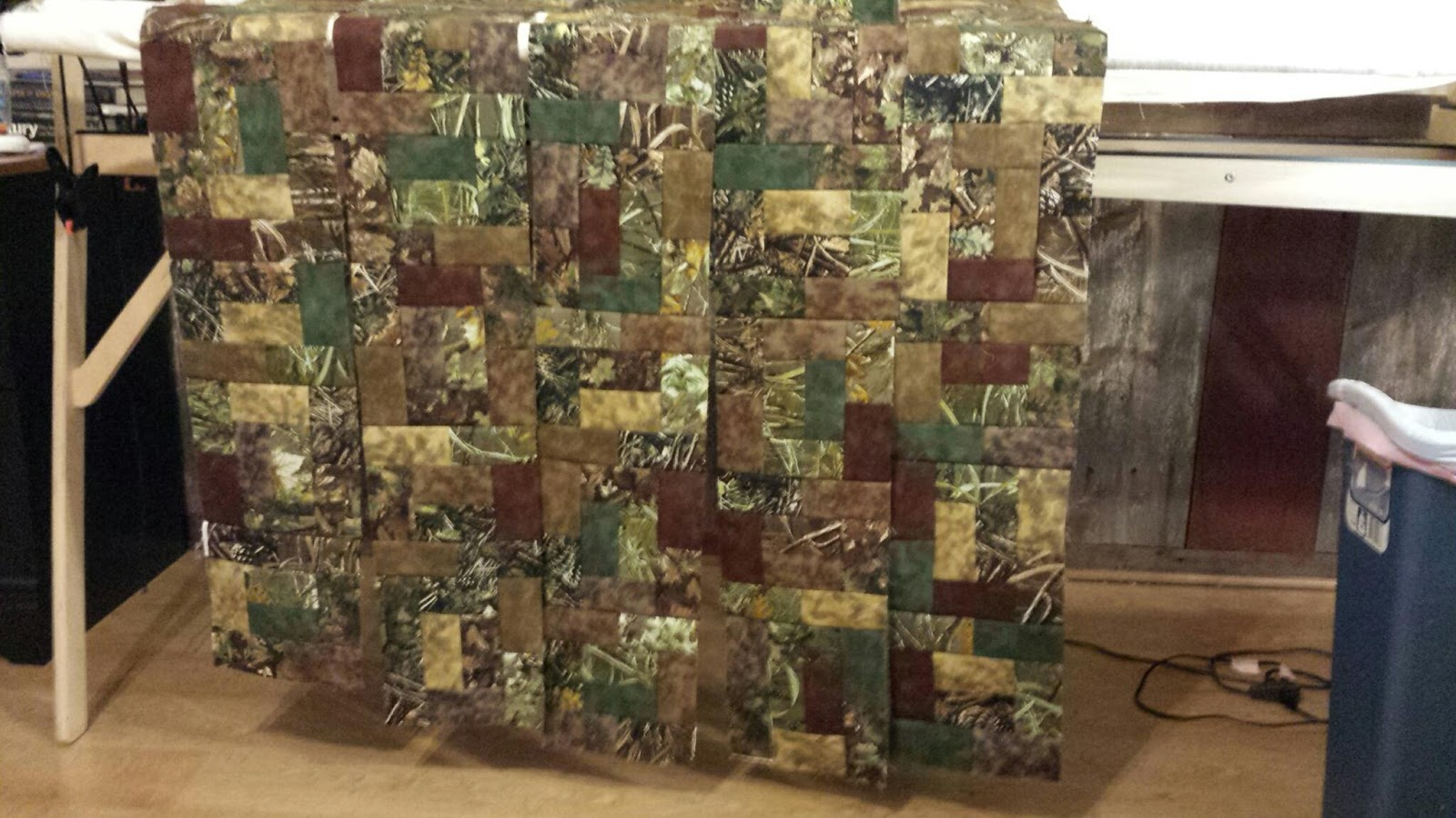 Free Motion Quilting With Ren Queen Camo Quilt