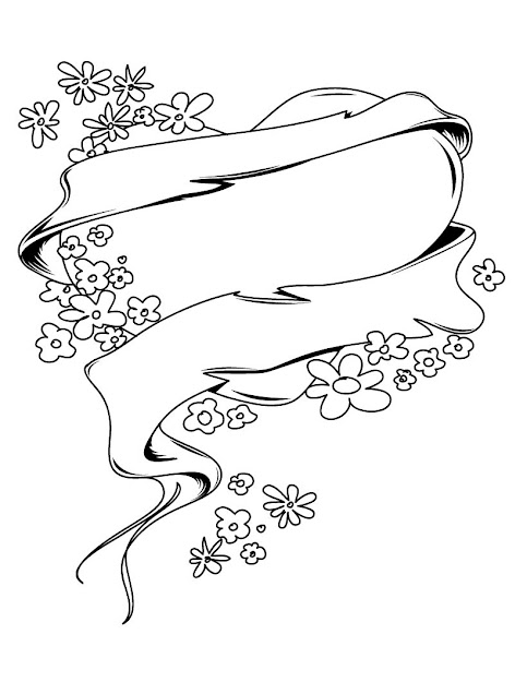 Coloring Pages Of Hearts And Flowers