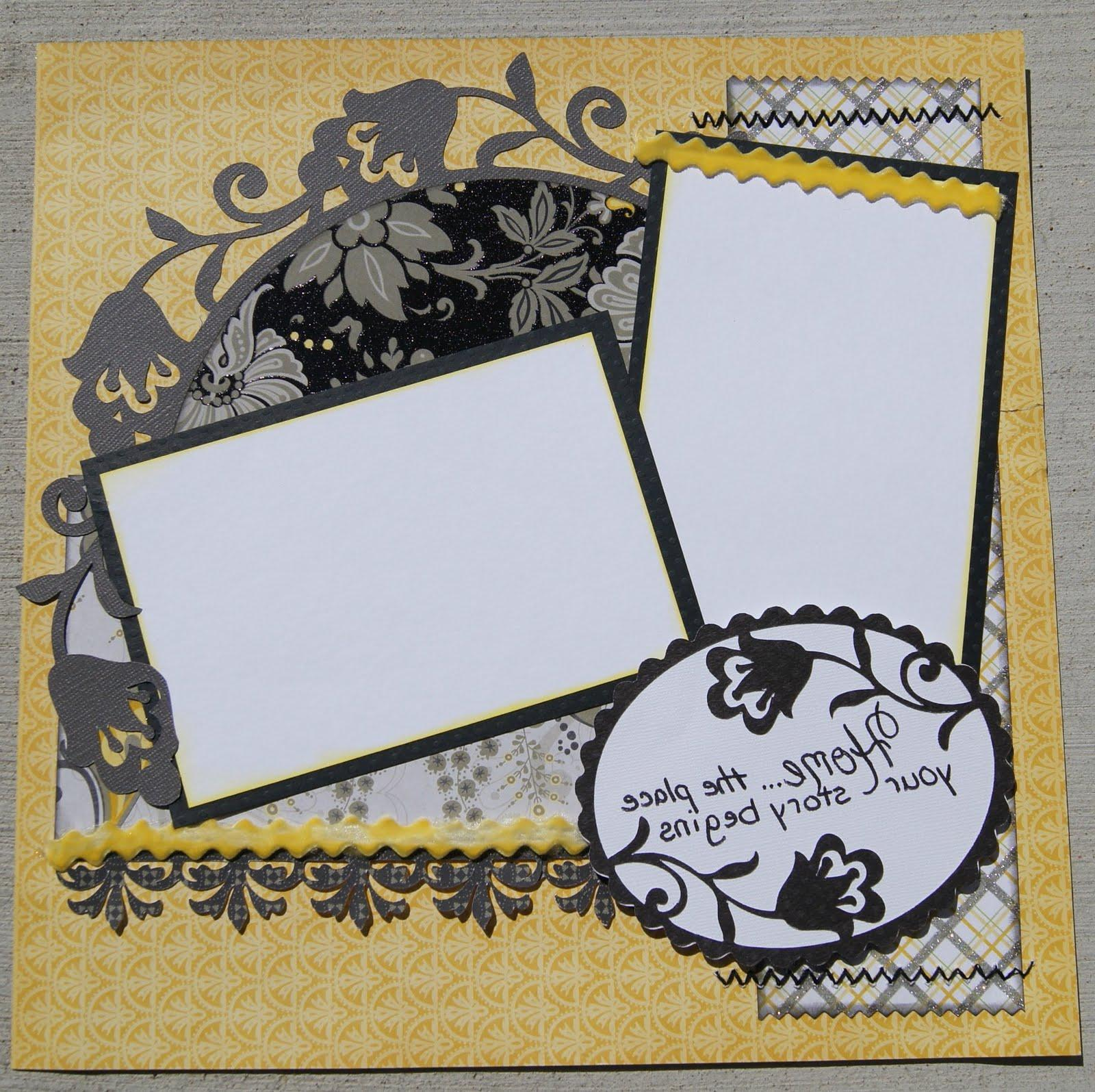 SOPHIE: Home Scrapbook Layout