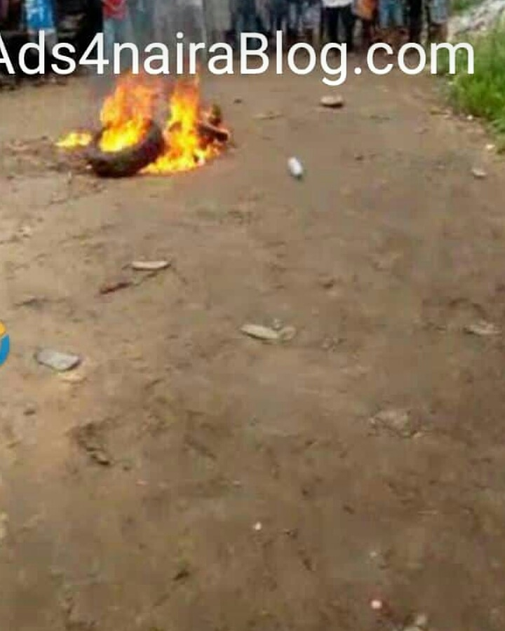 Woman burnt alive for cooking with mortuary water in Delta State (photo)