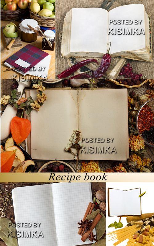 Stock Photo: Recipe book
