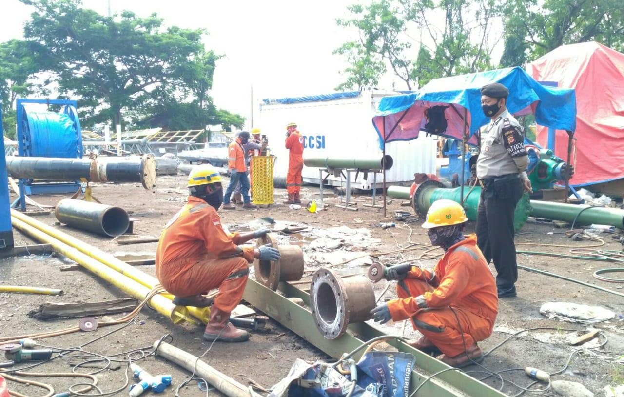 Pekerja Kawasan Pelabuhan Cirebon Sasaran OPS Yustisi Polres Cirebon Kota Polda Jabar