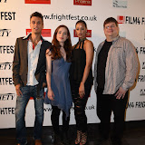 OIC - ENTSIMAGES.COM - Gez Medinger, Lorna Nickson Brown , Elarica Johnson and Andrew Ellard at the Film4 Frightfest on Friday of  After Death UK Film Premiere at the Vue West End in London on the 28th August 2015. Photo Mobis Photos/OIC 0203 174 1069