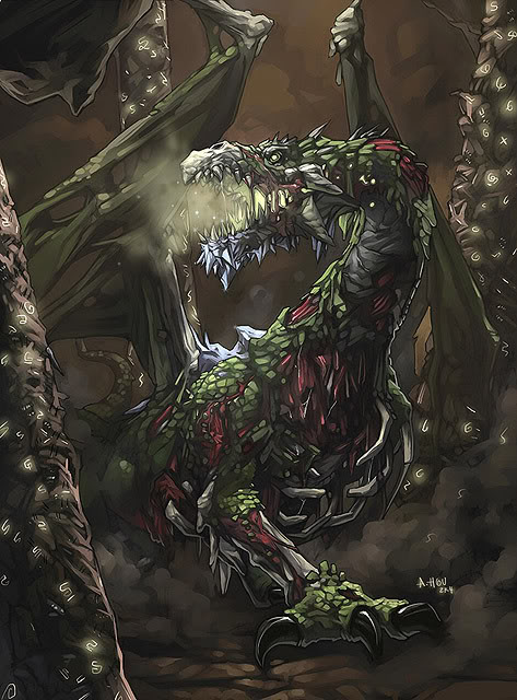 Undead Dragon, Dragons