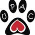Logo da União Protetora de Animais Carentes (Upac Fortaleza)