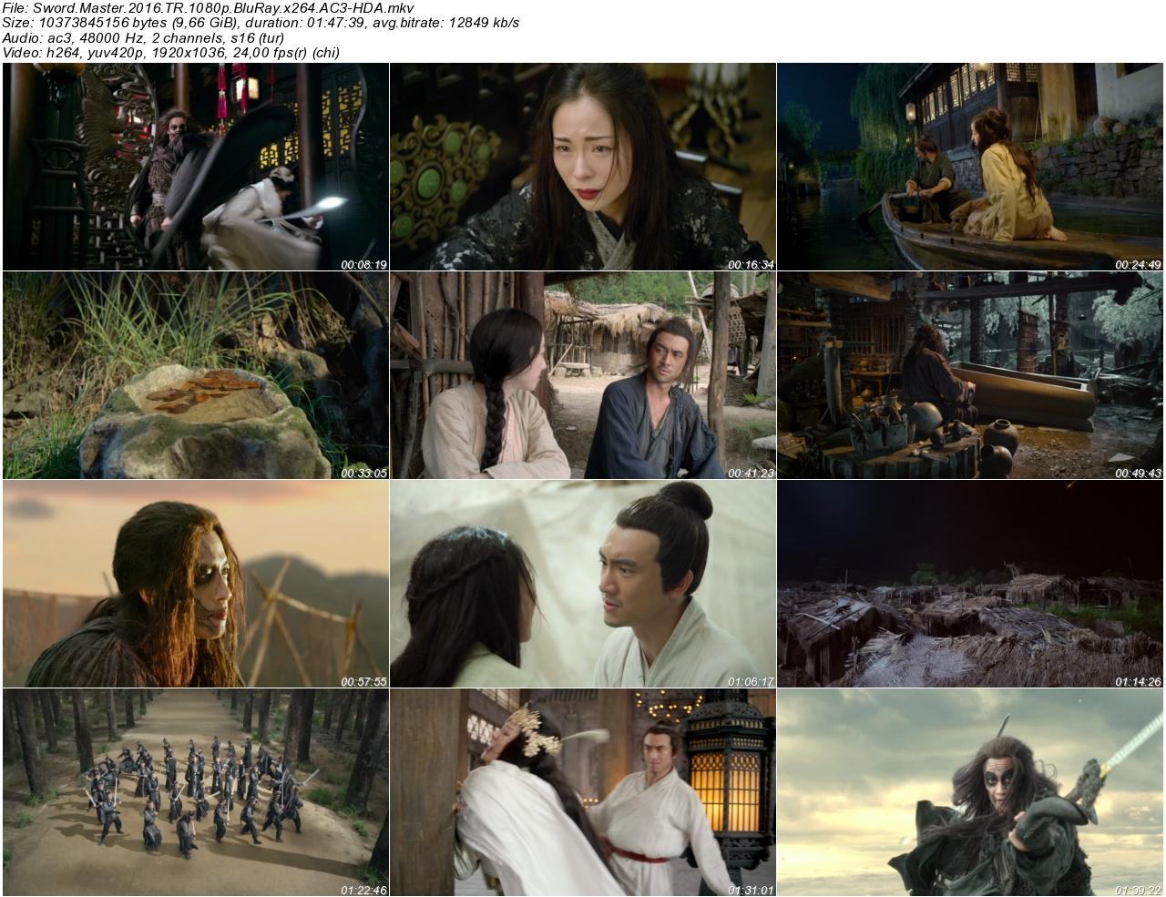 Sword Master 2016 - 1080p 720p 480p - Türkçe Dublaj Tek Link indir