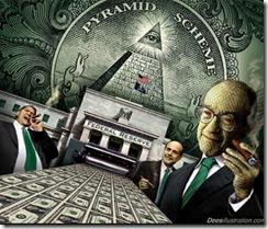 Modele Ponzi creation monétaire