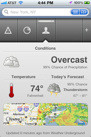 The Weather,iphone weather apps,weather apps for iphone