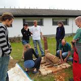 Stavba pece - první víkend
