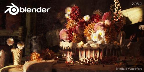 Téléchargement de Blender 2.93.1 sur le site officiel de Blender.org