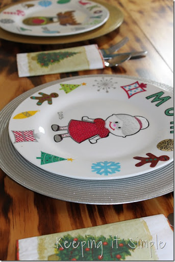 DIY-Personalized-Christmas-Dinner-Plates (18) & Christmas Family Tradition- DIY Personalized Christmas Dinner Plates ...