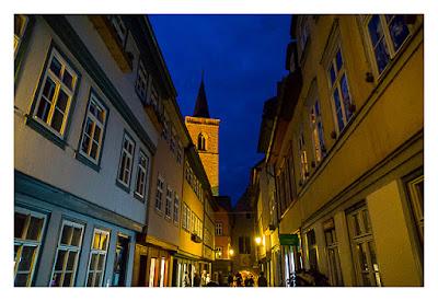 Nachtwächterführung - Erfurt - Auf der Krämerbrücke