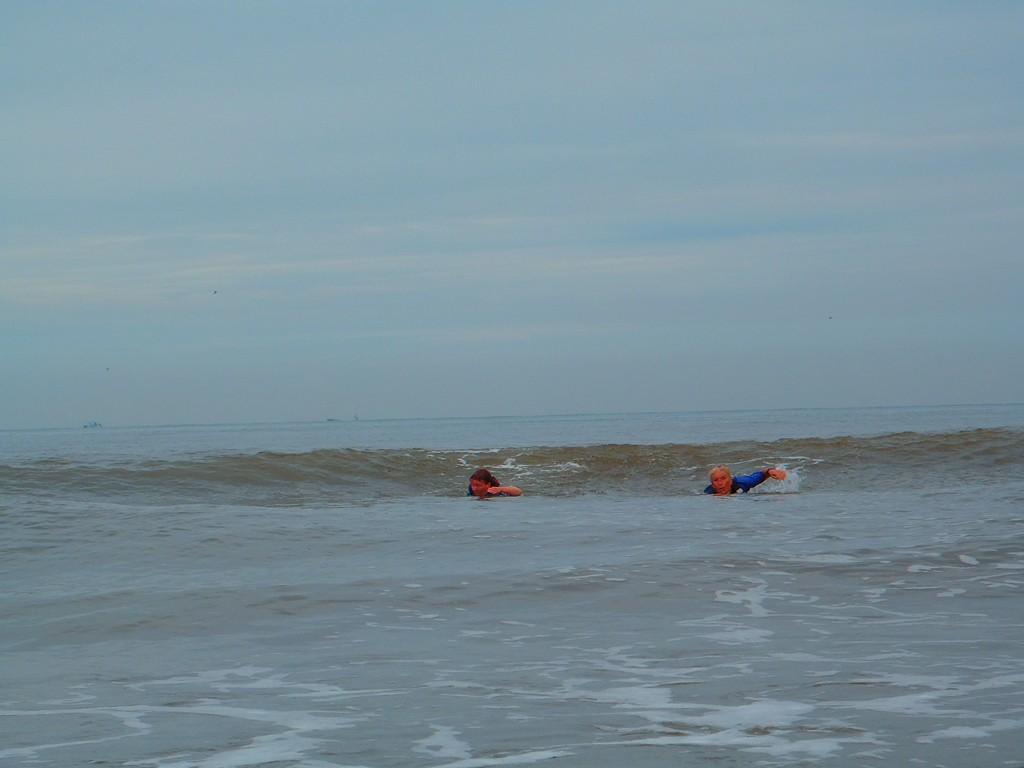 privé oefensessie in zee