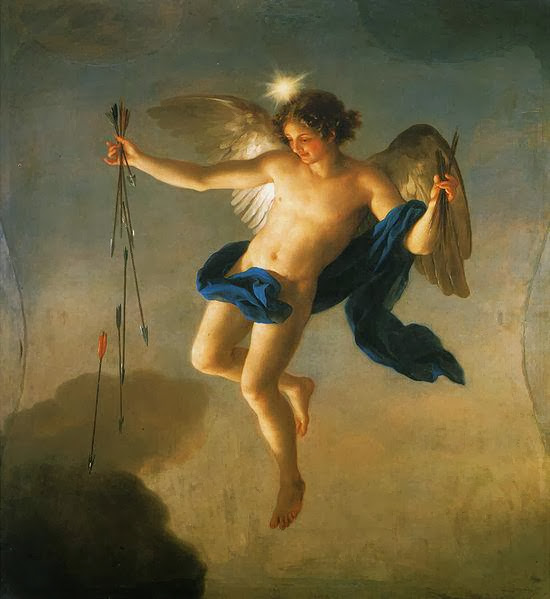 Anton Raphael Mengs - Hesperus as Personification of the Evening