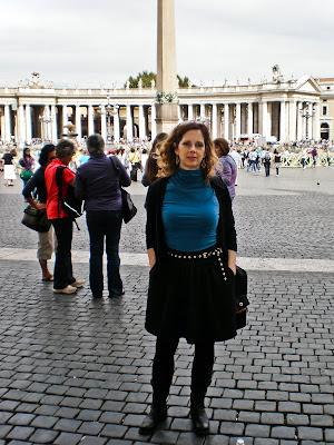 Penny Sadler at St. Peter's