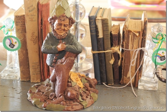 Tom Clark Gnomes for St. Pat Day-Bargain Decorating with Laurie