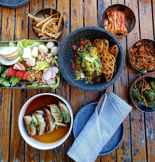 Korean food in DC at Anju