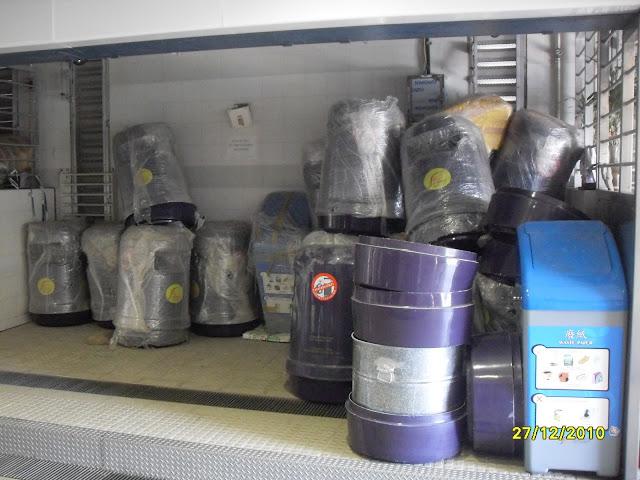 坪洲新聞 Peng Chau News: 政府官僚系列--食環署擺放回收箱的標準?