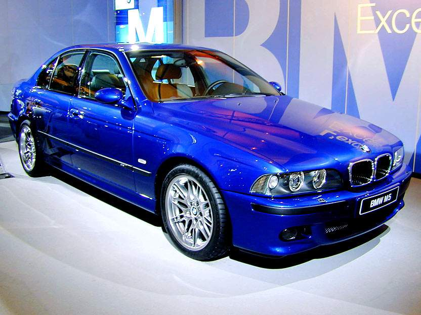 Bmw Automobiles Bmw E39 M5 Lemans Blue