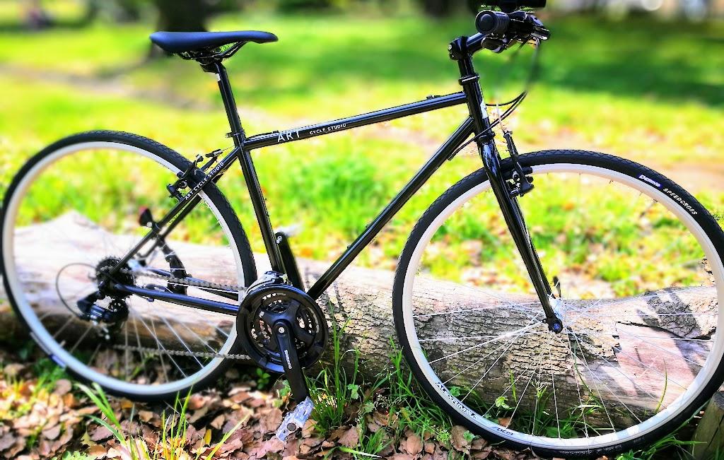 アートサイクルクロモリクロスバイクC400