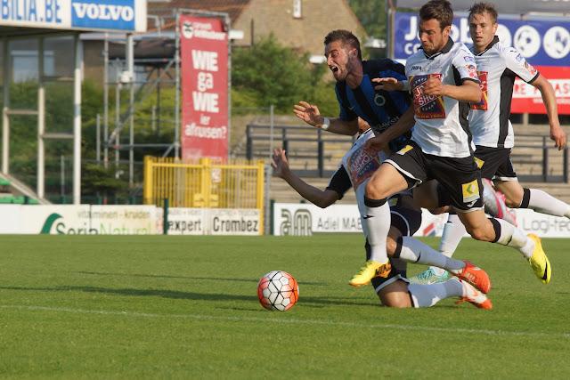 Tuur Dierckx van Club Brugge afgestopt door SV Roeselare
