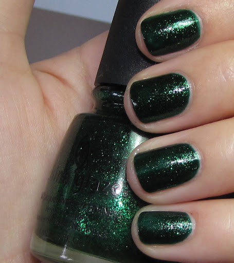 Emerald Sparkle - 2 coats