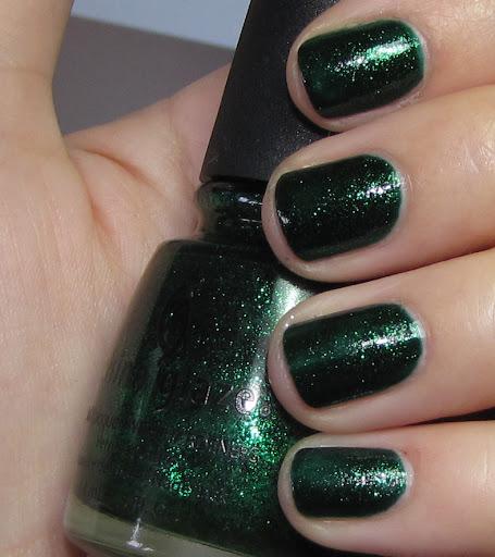 Emerald Sparkle - 2 coats
