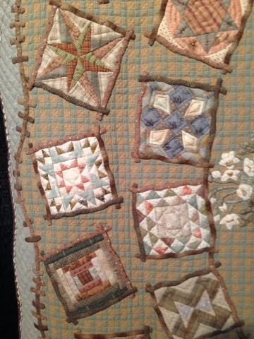 little quilts in a large quilt