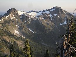 Peaks above Lake Ann.