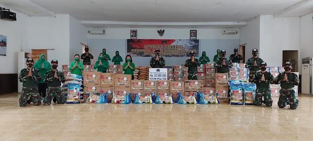 Peduli  Bencana  Banjir, Kodim 0906/Tenggarong Kirim Bantuan Logistik ke Kalimantan Selatan