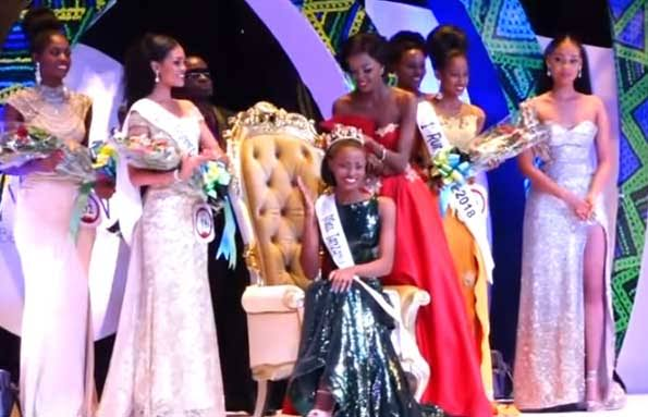 Miss Tanzania 2019 unveiled. PHOTO | MILLARDAYO