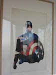 Great Captain America art