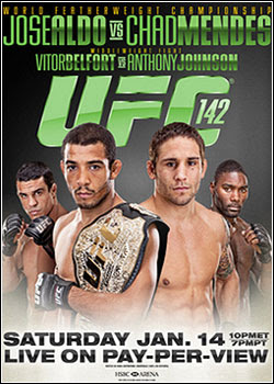 asf2134 Download   UFC 142 José Aldo vs. Chad Mendes HDTV AVI e RMVB (2012)